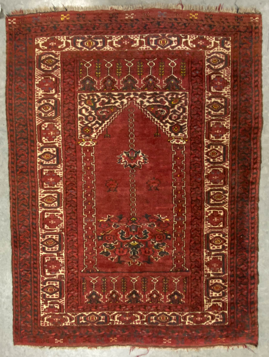 ANTIQUE CAUCASIAN / PERSIAN PRAYER RUG