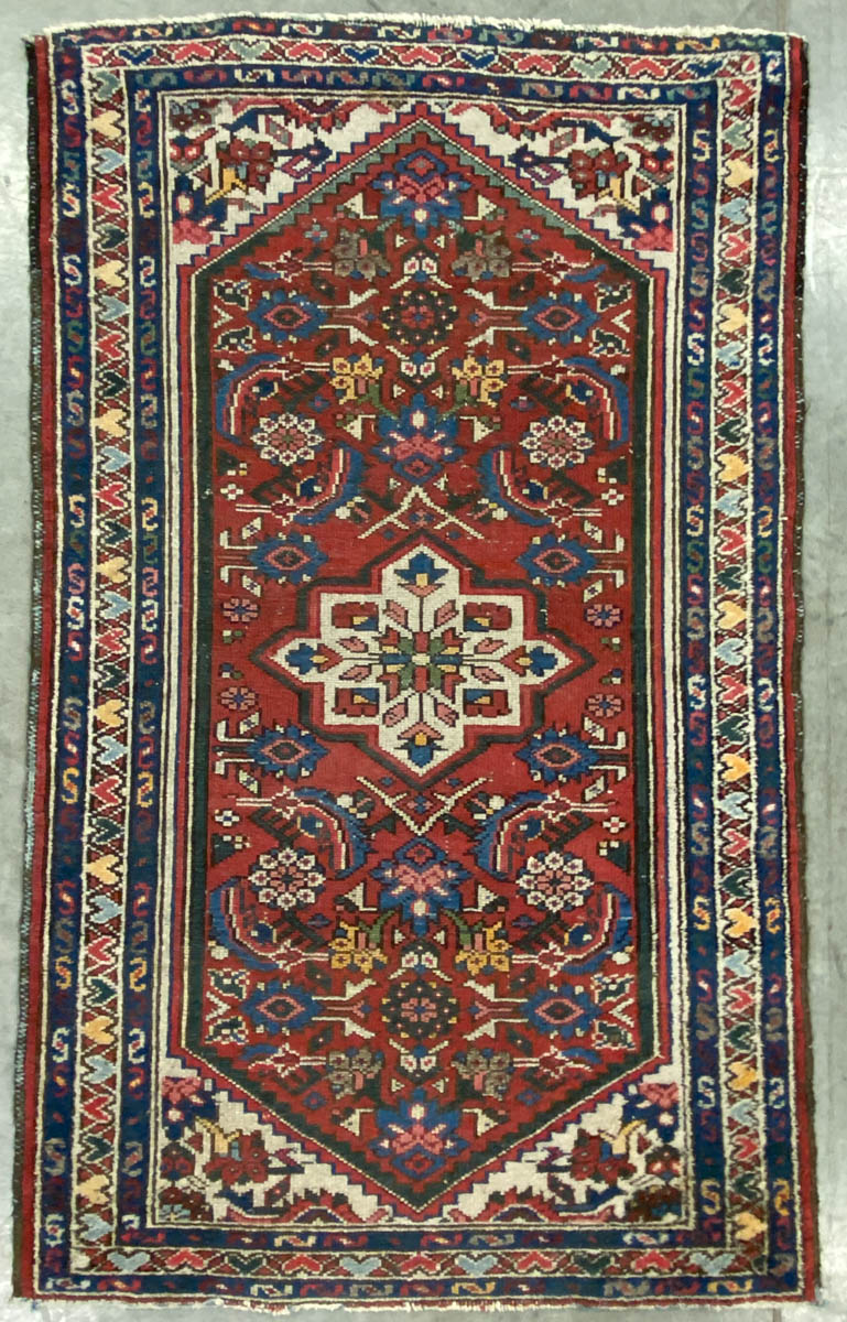 SEMI ANTIQUE PERSIAN SCATTER RUG