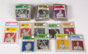 SPORTS CARDS HIT A HOMERUN AT JSEA WINTER AMERICANA AUCTION.